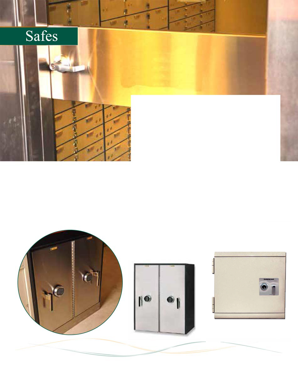 Bank Design and Equipment Safes